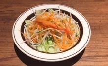 ミート矢澤のランチサラダ