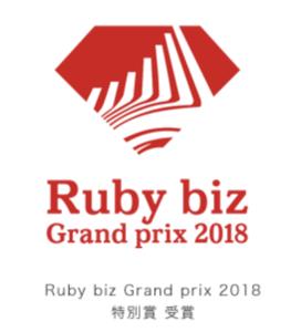 Rudy biz Grand prix 2018特別賞を受賞