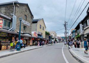 小樽の街でショッピング