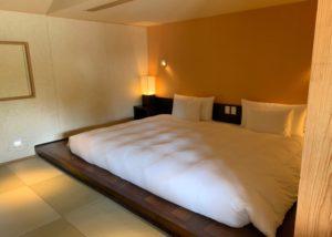 星のや竹富島ベッド