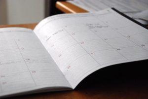 スタディサプリTOEICの進め方③:学習スケジュールを設定しておく
