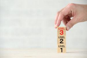 スタディサプリ新日常英会話とビジネス英語コースとの違い②:レベルについて